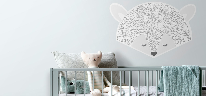sticker mural chambre bébé