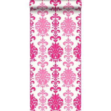 papier peint baroque rose de ESTA home