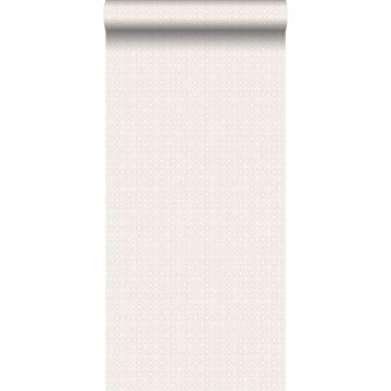 papier peint dentelle rose clair de ESTA home