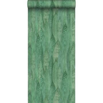 papier peint feuilles vert jade de ESTA home