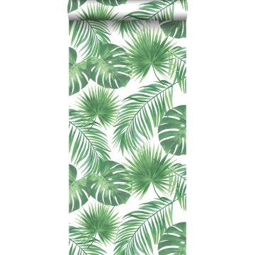 papier peint feuilles tropicales vert de ESTA home