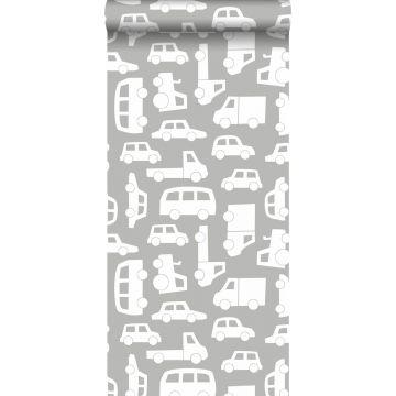 papier peint voitures gris chaud de ESTA home