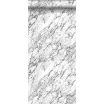 papier peint marbre noir et blanc de ESTA home