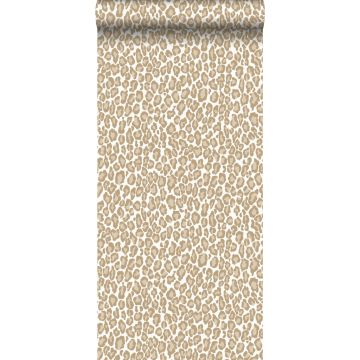 papier peint peau de léopard cervine de ESTA home