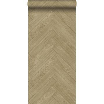 papier peint imitation bois cervine de ESTA home