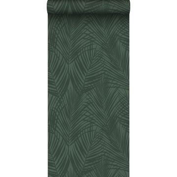 papier peint feuilles de palmier vert foncé de ESTA home