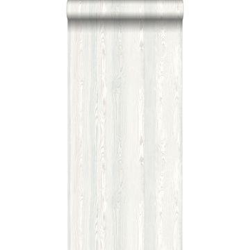 papier peint imitation bois blanc de ESTA home