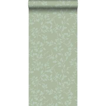 papier peint feuilles vert de ESTA home