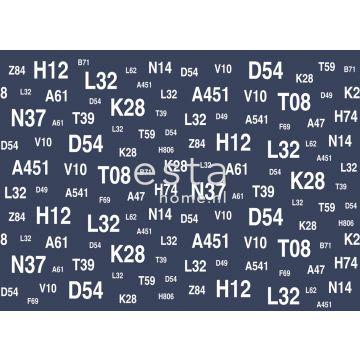 papier peint panoramique bateau à voile bleu de ESTA home