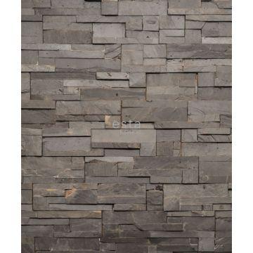 papier peint panoramique imitation bois gris de ESTA home