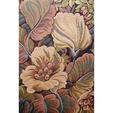 papier peint panoramique fleurs orange de ESTA home