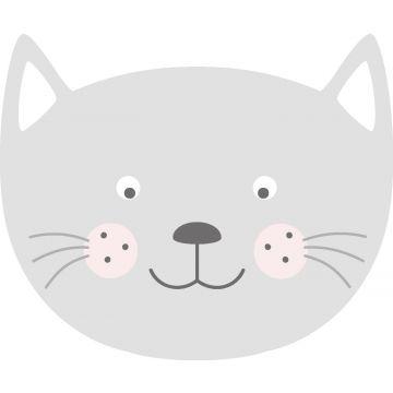 sticker mural têtes d'animaux gris clair de ESTA home