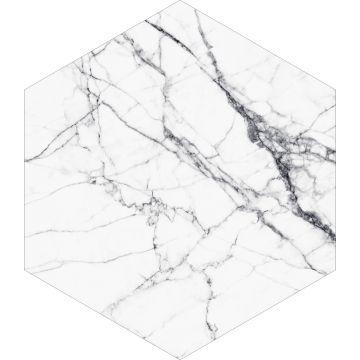 sticker mural marbre noir et blanc de ESTA home