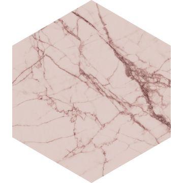 sticker mural marbre gris rose de ESTA home