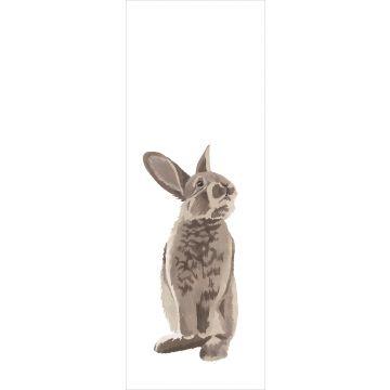 papier peint panoramique lapin marron de ESTA home
