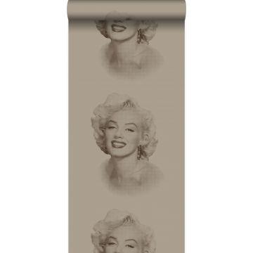 papier peint Marilyn Monroe bronze brillant de Origin