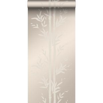 papier peint bambou argent chaud de Origin