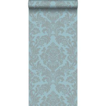 papier peint ornement bleu glace de Origin