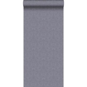 papier peint ornement violet et gris de Origin