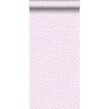 papier peint léopards rose de Origin