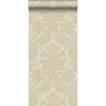 papier peint ornement beige chaud de Origin