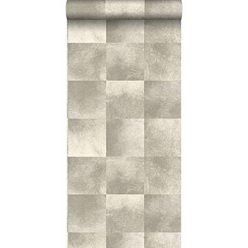 papier peint texture de peau d'animal beige de Origin