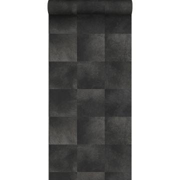 papier peint texture de peau d'animal gris charbon de bois de Origin