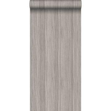 papier peint rayé gris violet de Origin