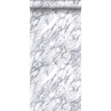 papier peint marbre Ivoire foncé blanc de Origin