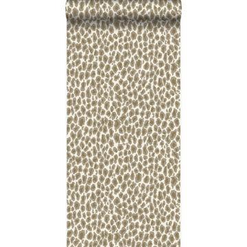 papier peint peau de léopard beige de Origin