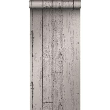 papier peint imitation bois gris foncé de Origin