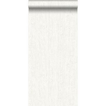papier peint imitation bois blanc crème de Origin