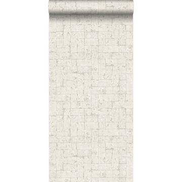 papier peint brique beige clair de Origin