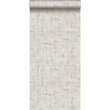 papier peint brique cervine de Origin