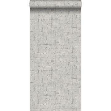 papier peint brique gris clair de Origin