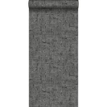 papier peint brique noir de Origin