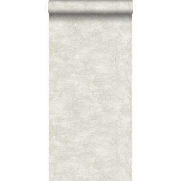 papier peint effet béton beige clair de Origin