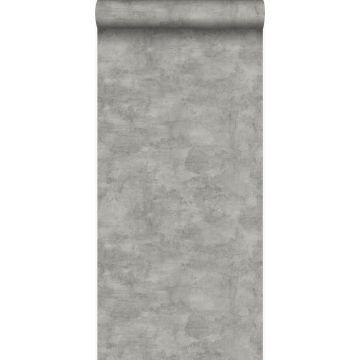 papier peint effet béton gris foncé de Origin