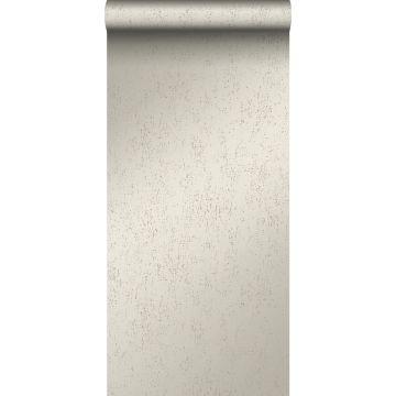 papier peint plaque métallique vieillie, altérée et touchée par les intempéries argent chaud de Origin