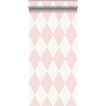 papier peint à carreaux rose brillant de Origin
