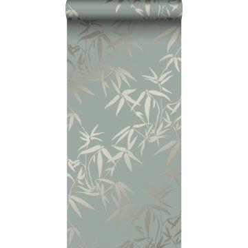 papier peint feuilles de bambou vert de Origin