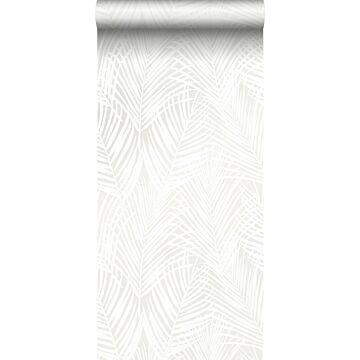 papier peint feuilles de palmier blanc de Origin