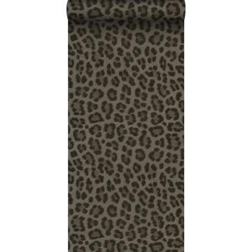papier peint peau de léopard taupe de Origin