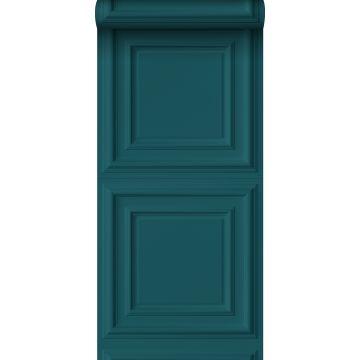 papier peint paneles de pared bleu canard de Origin